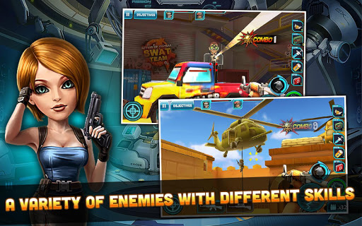 Action of Mayday: SWAT Team v1.0.4 APK (Mod Unlimited Money)