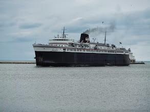 Photo: Day 40 Manitowoc to Ludington MI  SS Badger Ferry
