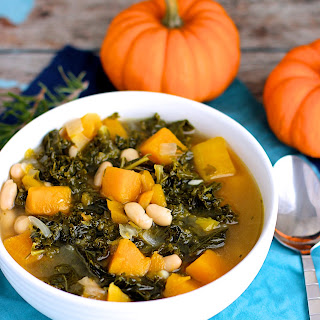 Butternut Squash, Kale, and White Bean Soup – Updated!