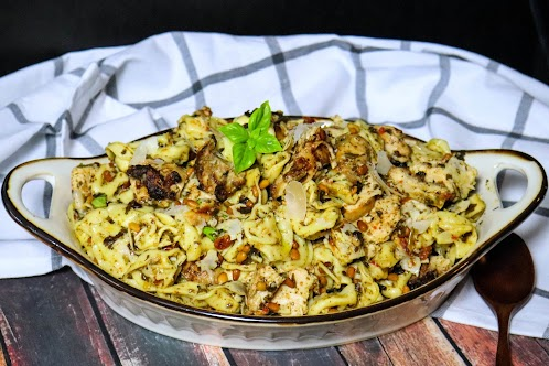 Grilled Chicken and Tortellini Salad