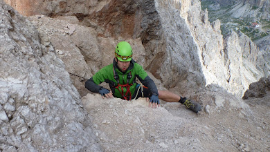 Photo: Climbing Paternkofel