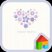 flower hearts 도돌런처 테마