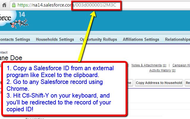 Salesforce Id Paster LIGHTNING ENABLED