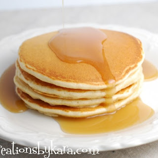 Diner Style Pancakes.