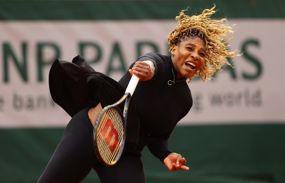 Serena digs deep to find way past Ahn into second round - Business Day