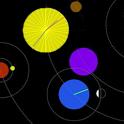 FREE Astro Clock LWP icon