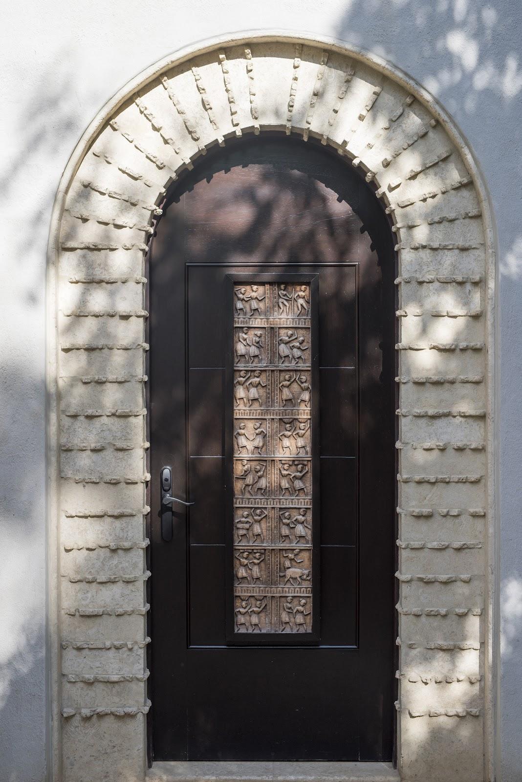 Casa Sonrisa Front Door