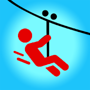 Zipline Valley - Physics Puzzle Game