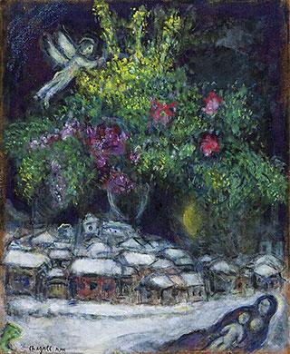 Марк Шагал. Рождество.
