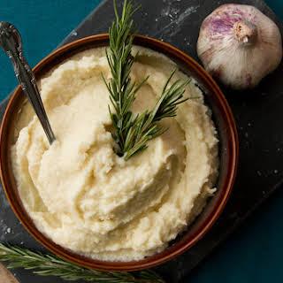 Creamy Garlic Cauliflower-Potato Mash.