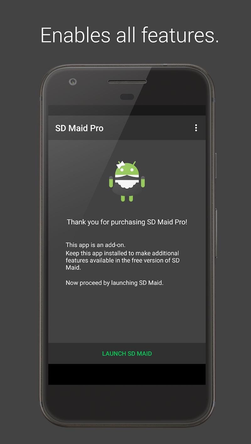 SD Maid Pro - Unlocker Screenshot 0