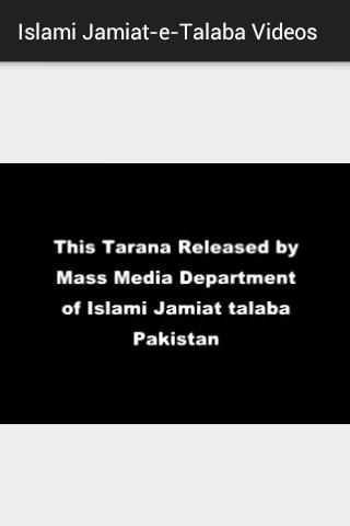 Islami Jamiat-e-Talaba Videos