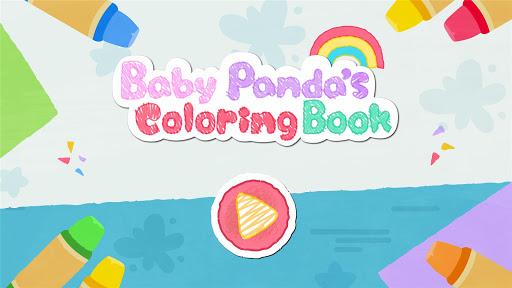 Baby Panda's Coloring Book apkpoly screenshots 6