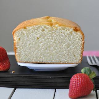 Elvis Presley's Favorite Vanilla Pound Cake