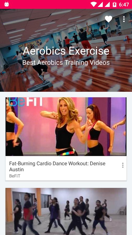 Aerobics Exercise Training S Of Fitness Dance Screenshot