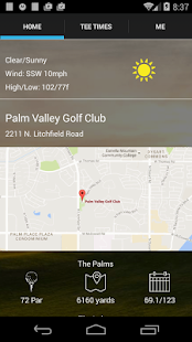 Palm Valley Tee Times- screenshot thumbnail