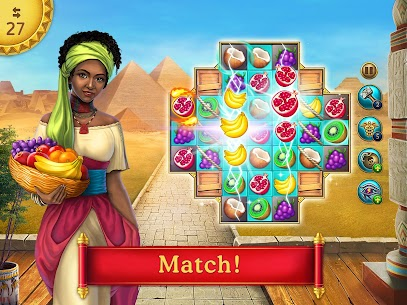 Cradle of Empires Match-3 Game Mod Apk 6.9.6 (Free Shopping) 6