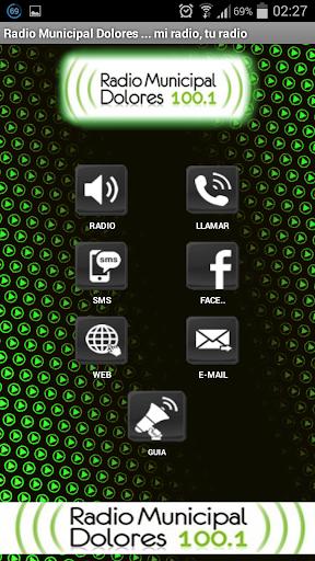 Radio Municipal Dolores 3.0.2 screenshots 2