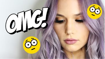 OMG! Lavender - YouTube Thumbnail Template