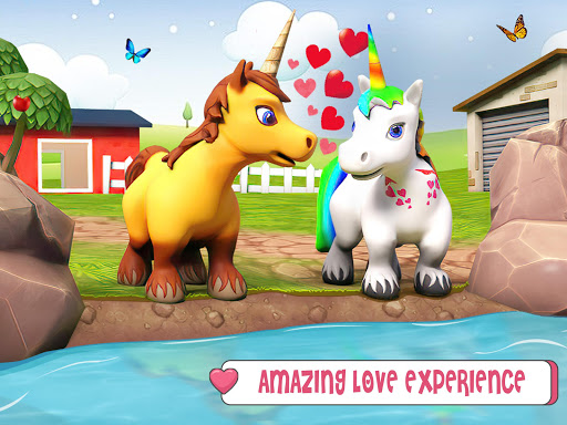 Baby Unicorn Wild Life: Pony Horse Simulator Games modavailable screenshots 14