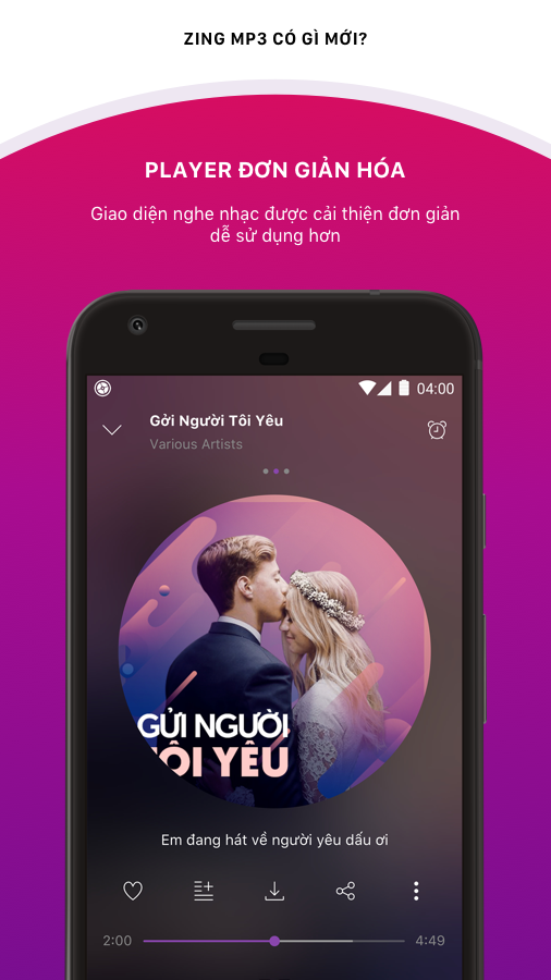 Zing MP3 APK 18.05.01 screenshots 2