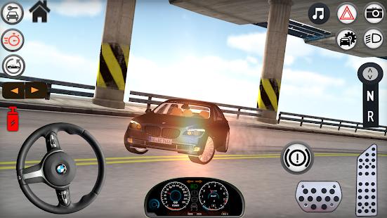760Lİ vs 750Li Car Drift Simulation - náhled