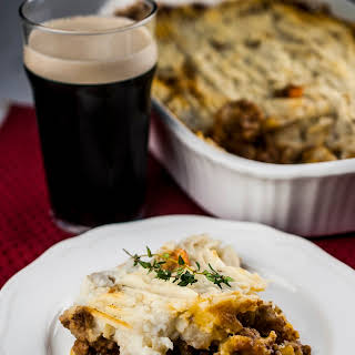 Cottage Pie with Guinness Gravy.
