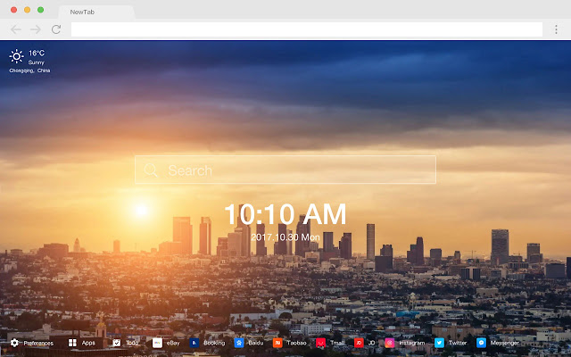 Los Angeles HD Popular Cities New Tabs Themes