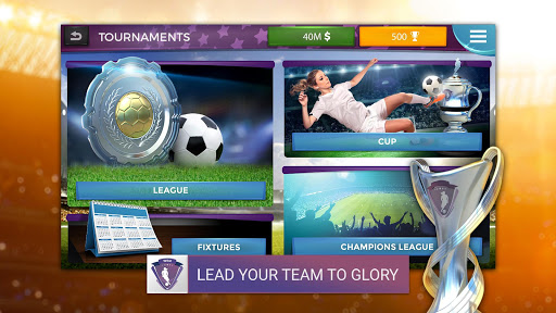 Women's Soccer Manager - Football Manager Game 1.0.13 screenshots 5