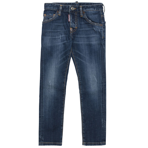 Primary image of DSQUARED2 Distressed Denim Jeans