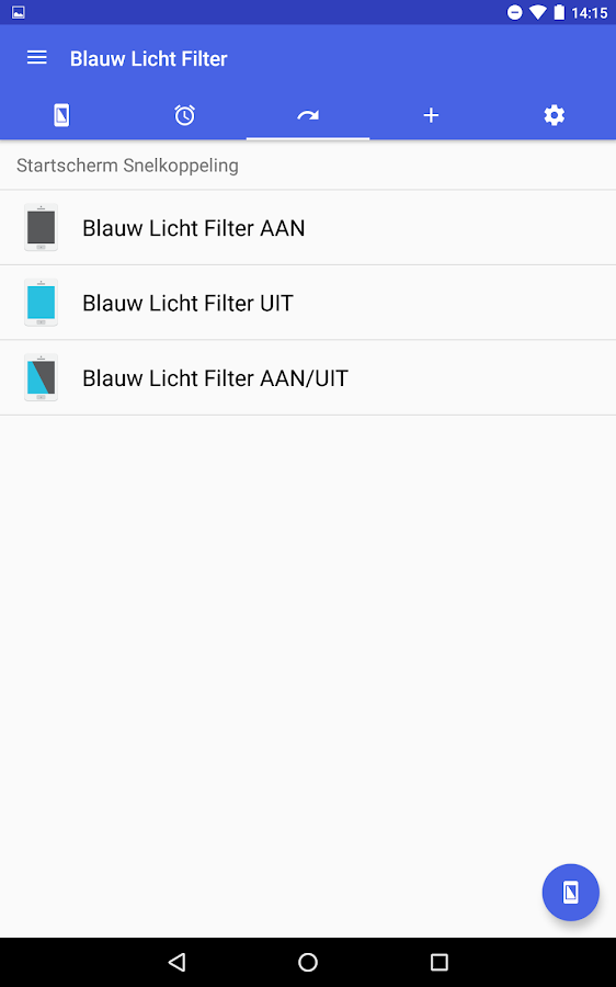 Blauw Licht Filter - Oogzorg: screenshot
