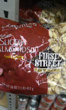 Photo: We'll go with First Street sliced almonds for the cookies.