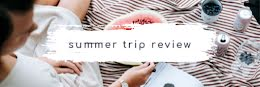 Summer Trip Review - Email Header item