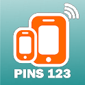 Pins 123 icon