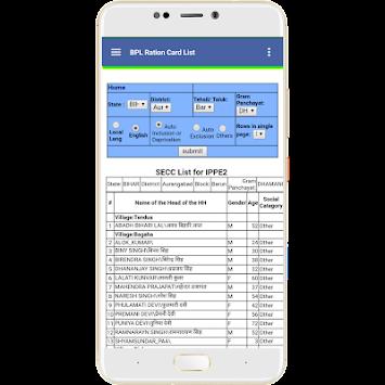 Download BPL List (All India BPL List 2018-2019) APK latest