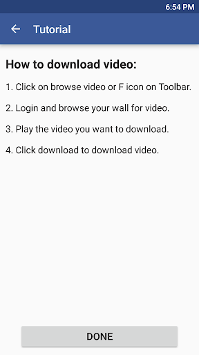Video Downloader for Facebook Video downloader APK (1 3) on