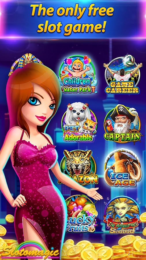 Sloto Magic - Free 777 Vegas Casino Slots- screenshot