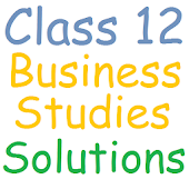 Class 12 Business Studies Sol.