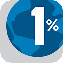 RoundUp to 1% for the Planet icon