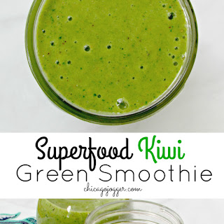 Superfood Kiwi Green Smoothie.