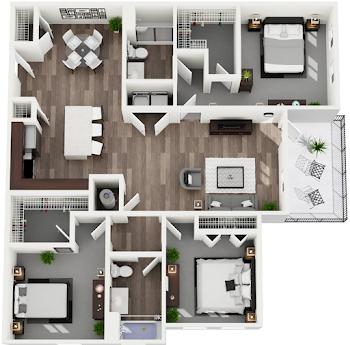 Go to Loudoun Floorplan page.
