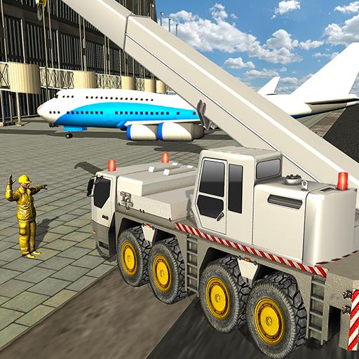 City Airport Crane Operator