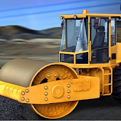 City Roads Construction Roller