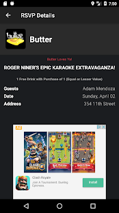 Guest List Nation for Android- screenshot thumbnail