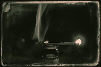 Photo: matchstick ...