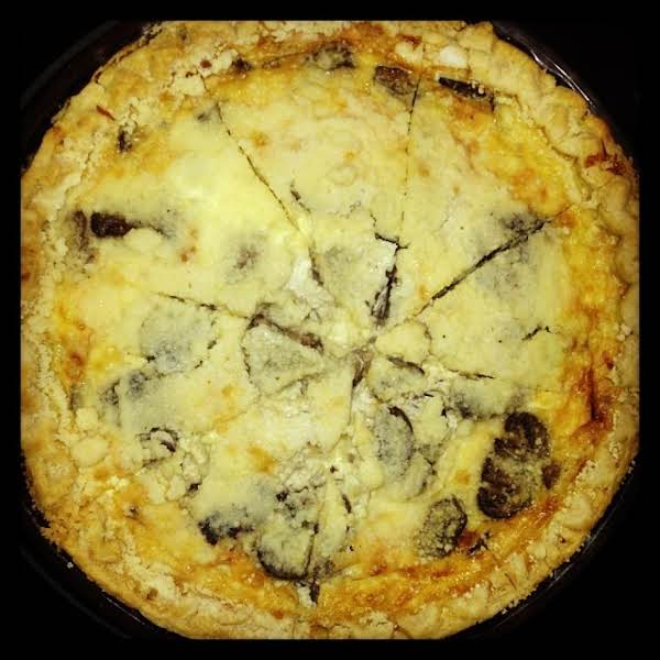 From Instagram: Mushroom Quiche Http://instagram.com/p/hj10r8qu6o/