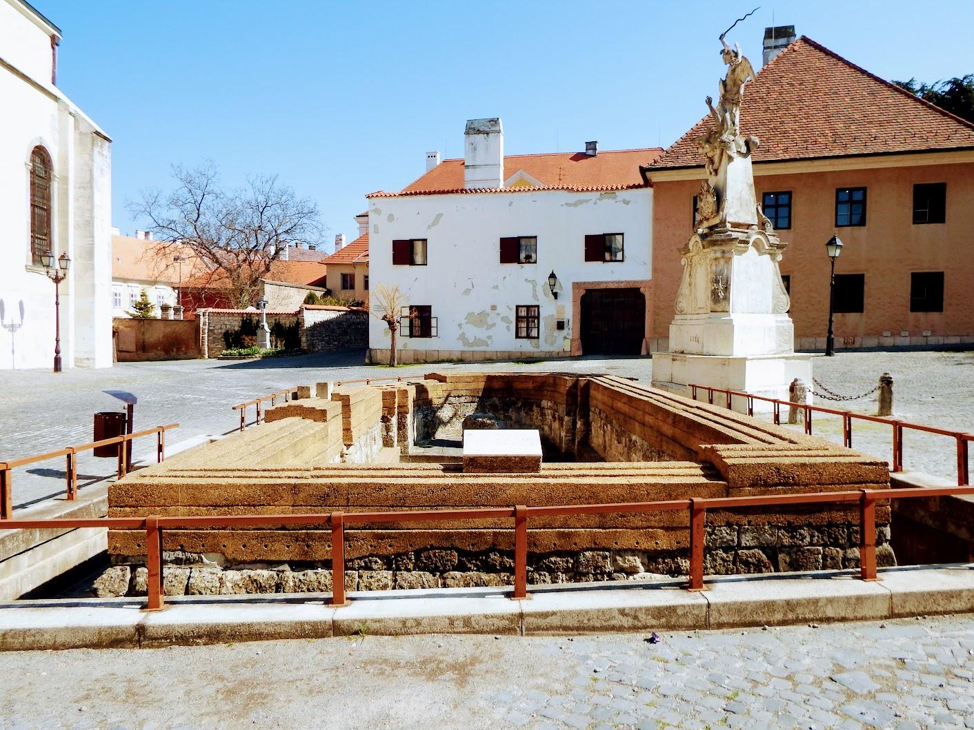 Győr - Szent Lázár templomrom
