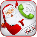 Santa Talking Phone Call icon