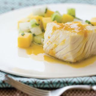 Triple-Citrus Ginger Black Cod.