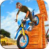 3D Racing on Bike Trial Xtreme : Real Stunt Rider